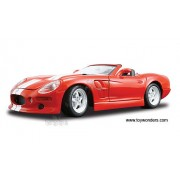 Maisto Special Edition Shelby Series 1 Convertible (1999, 1:18, Red) 31142 Diecast Motorcycles And Cars