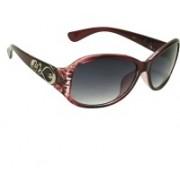Mangal Brothers Rectangular Sunglasses(Black)