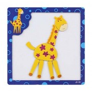 Lovely Children Animal Pattern Wood Jigsaw Puzzle For Babies And Kids Puzzles