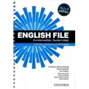 OXFORD English File Pre-intermediate Teacher´s Book with Test and Assessment CD-ROM (3rd) - Ch. Latham-Koenig, C. Oxengen, P. Selingson