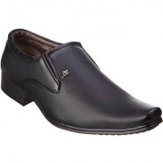 Kraasa Men'S Black Slip On Formal Shoes