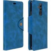 Avizar Capa Carteira Azul com Suporte Sixties para Huawei Mate 20 Lite