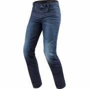 REV'IT! Motorrad-Jeans Motorrad-Hose REV'IT! Vendome 2 RF Motorradjeanshose dunkelblau used 32/34 blau