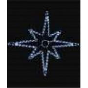 DECORATIUNE LED STELUTA12W IP44 80CM ALB FARA CABL