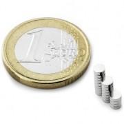 Magnet neodim disc, diametru 3 mm, putere 210 g