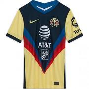 Nike Club America Home 2020/21 playera de fútbol para hombre, Amarillo, Small