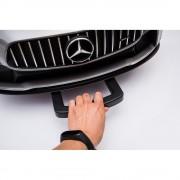Masinuta electrica cu roti din cauciuc Mercedes GT4 rosu