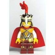 LEGO King (Lion Army) - LEGO Kingdoms Castle Minifigure with Metallic Gold Great Sword