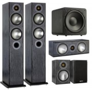 Pachete PROMO SURROUND - Monitor Audio - Bronze 5 pachet 5.1 White Ash