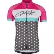 KILPI Dámský cyklistický dres DOTTY-W GL0010KIPNK Růžová 42