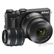 Nikon 1 J5 fotoaparat kit (10-30mm PD-Zoom + 30-110mm objektiv), black