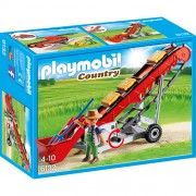 Playmobil - Country Farm - Transportor Pentru Baloti de Fan