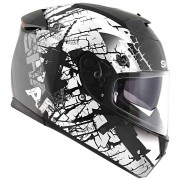 Shark Speed-R Series 2 Charger Casco Negro Mate/Blanco S (55/56)