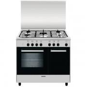 Glem Gas Ar965mi6 Cucina 90x60 5 Fuochi A Gas Forno Multifunzione Elettrico Vent
