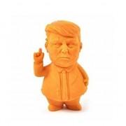Merkloos Donald Trump gum 9 cm