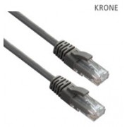 Krone Cat6 UTP Patch Grey Molded Cord- 2m