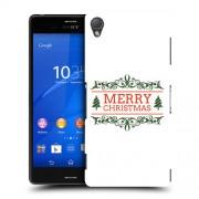 Husa SONY Xperia Z3 Silicon Gel Tpu Model Craciun Merry Christmas