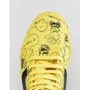 Vans X Peanuts Sk8-Hi Trainers In Yellow VA2XSBQX4 - Yellow