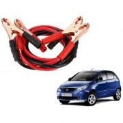 Auto Addict Premium Quality Car 500 Amp Heavy Duty Copper Core Tangle Battery Booster Cable 7.5 Ft For Tata Indica Vista