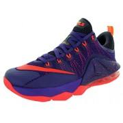 Nike Mens Lebron XII Low Basketball Shoe (9. 5, Crt Prpl/Brght Crmsn/Cv Prpl/L)