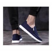 Zapatos Casual comodo transpirable Hombre Fashion-cool-Azul