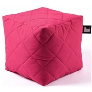 Extreme lounging B-Box Quilted Poef - Roze