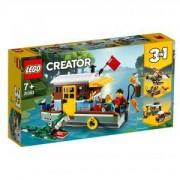 Конструктор Лего Криейтър - Плаваща къща в реката, LEGO Creator 31093