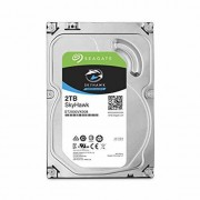 "Seagate SkyHawk HDD 2TB SATA III 64MB 6.0Gb/s 7200rpm 64MB Internal 3.5"" - ST2000VX008"