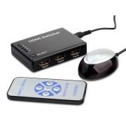 HDMI switch távirányitós 5be 1ki buborék csomagolásban