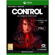 Control Ultimate Edition Xbox One Game (free Pin Badge)