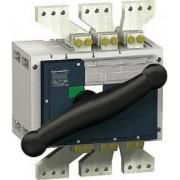 Separator de sarcina decuplare vizibil interpact inv2500 - 2500 a - 3 poli - Separatoare de sarcina interpact ins / inv - Inv630b...2500 - 31368 - Schneider Electric