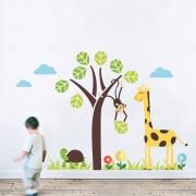 Stickere perete copii Copacul fermecat - 126 x 112 cm