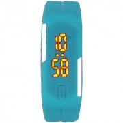 LED Watches Candy Color Silicone Rubber Digital