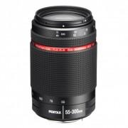 Pentax 55-300mm Obiectiv Foto DSRL f/4-5.8 HD DA ED WR Negru