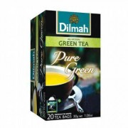 Dilmah All natural green tea pure 20st