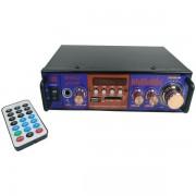 Amplificator audio tip statie BT-798 cu Bluetooth, USB si suport SD
