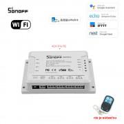 Sonoff 4CH Pro R2- 4 Kanálový WiFI Spínač