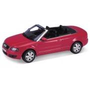 Количка метален автомобил AUDI A4 CABRIO, Червена, 210306, дължина 24 см...