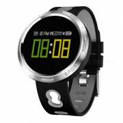Pulsera inteligente de pantalla tactil a color X9-VO con control de sueno de oxigeno en la sangre de la frecuencia cardiaca del podometro - gris