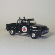 Matchbox Die Cast Joes Roadside Serice Texaco 1953 Ford Pick Up Truck 1:43 Scale