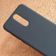 Силиконов калъф за Huawei Mate 10 Lite черен гръб Lux