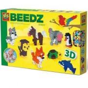 Детски комплект Направи си сам - 3D животни SES, 080941