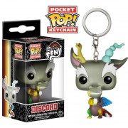 Funko Pop Discord Llavero My Little Pony Pocket Keychain-Multicolor
