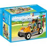 Joc PLAYMOBIL Zookeeper's Cart