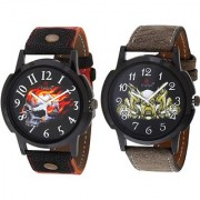 Evelyn Combo of 2 Men Watches EVE-382-386