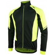 Kabát Rogelli Ubaldo 3.0, 003.032. fényvisszaverő sárga fekete
