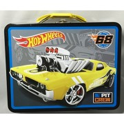 Hot wheels Racing Embossed Tin Lunch Box (Hot wheels 68 Race Team)