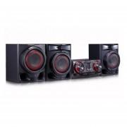 Minicomponente Lg CJ45 720W Doble Usb Bluetooth Karaoke - Negro