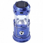 Lanterna cu felinar camping si pescuit panou solar usb YTG-588
