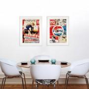"""Jens Lorenzen – Kennedy & Pepsi, """"Kennedy"""" - Galerierahmung mit schwarzem Rahmen"""